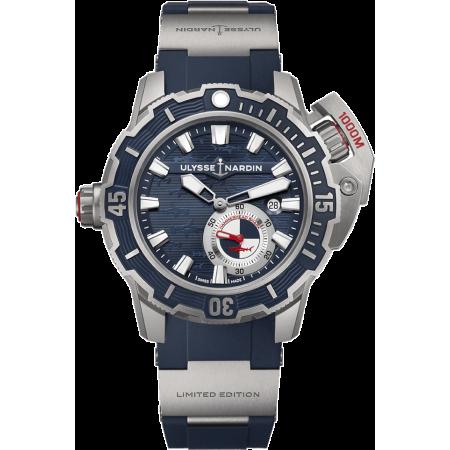 Часы Ulysse Nardin Deep Dive 46mm Automatic Blue Dial Men s Limited Edition