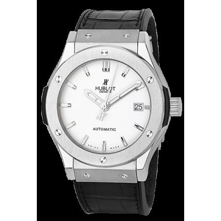Часы Hublot Classic Fusion Titanium Opalin 511.ZX.2610.LR