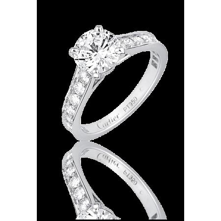 CARTIER Кольцо с бриллиантом 0.70ct N4161649