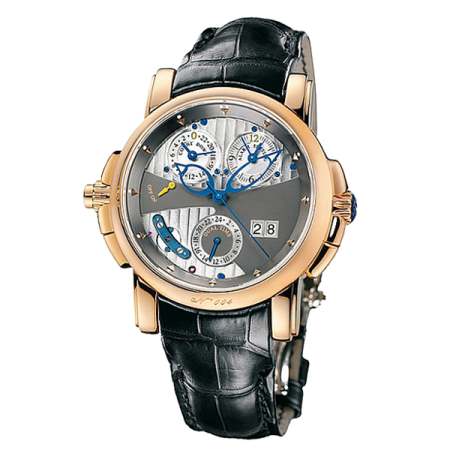 ULYSSE NARDIN COMPLICATIONS (SPECIALITIES) SONATA CATHEDRAL DUAL TIME