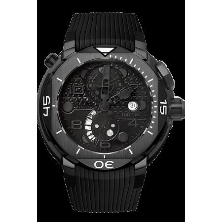 Часы Clerc HYDROSCAPH 1000M GMT POWER RESERVE