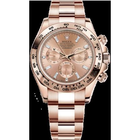 Часы Rolex Daytona Cosmograph 40mm Everose Gold116505-0012