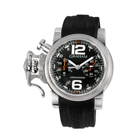 Graham Chronofighter RAC Black Fighter 2CRBS.B02A.L81B