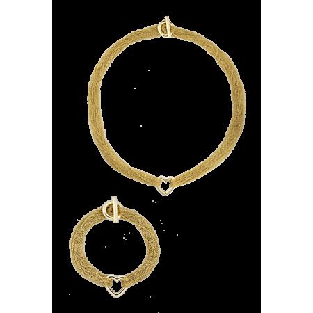 Tiffany&Co Комплект Колье и браслет