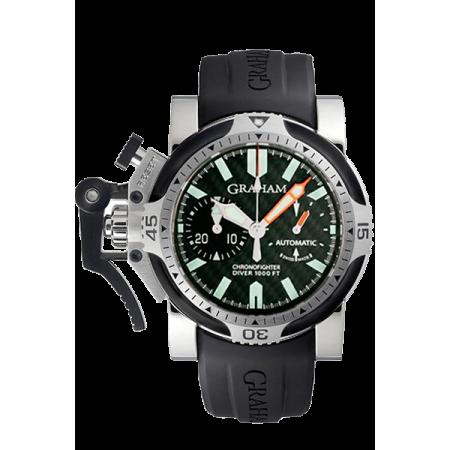 Graham Chronofighter Oversize Diver 2OVDIVAS.B03A.K10B