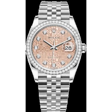 Часы Rolex Datejust 36mm Steel and White Gold126284rbr-0015