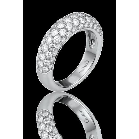 Кольцо с бриллиантом Cartier КОЛЬЦО ETINCELLE DE БЕЛОЕ ЗОЛОТО БРИЛЛИАНТЫ
