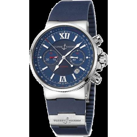 Часы Ulysse Nardin  Maxi Marine Chronograph 353-66-3/323