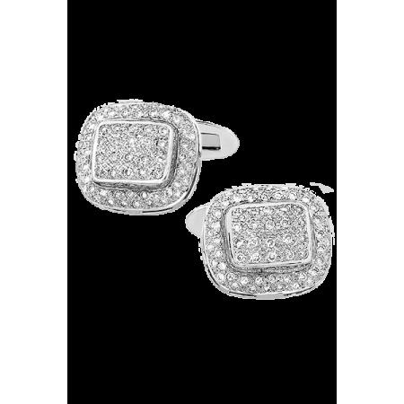 Запонки Vesco с бриллиантами.