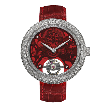 Часы JACOB &CO Northern Lights Steel Red Dial