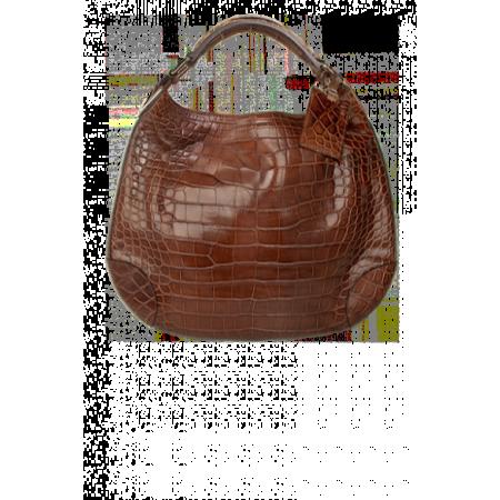 RALPH LAUREN сумка из кожи аллигатора