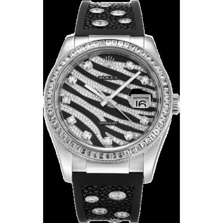 Часы Rolex Datejust 36mm White Gold116189 BBR