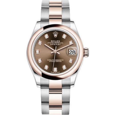Rolex Datejust 31mm Steel and Everose Gold 278241-0027