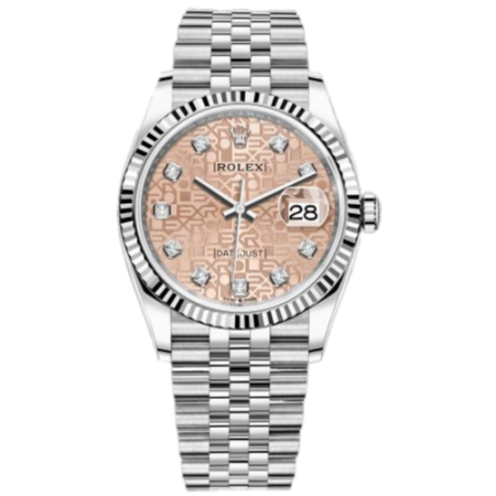 Часы Rolex Datejust 36mm Steel and White Gold126234-0023