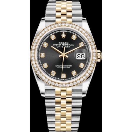 Часы Rolex Datejust 36mm Steel and Yellow Gold Тюнинг 126233