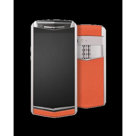 Телефон Vertu ASTER P Ti Silver Calf Dawning Orange