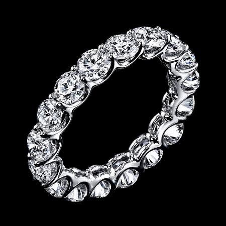 Кольцо RALFDIAMONDS  из платины с бриллиантами 5.33 ct