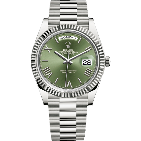 ROLEX DAY-DATE 40MM WHITE GOLD