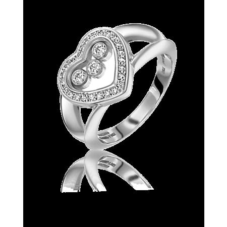 Кольцо Chopard Happy Diamonds Heart 824502 1110