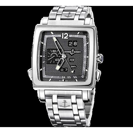 Часы Ulysse Nardin Classic Quadrato Dual Time Perpetual 320 90 8M 69