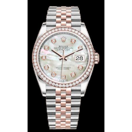 Часы Rolex DATEJUST STEEL AND ROSE GOLD DIAMOND тюнинг
