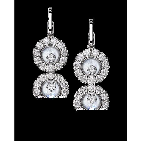 Серьги Chopard Happy Diamonds  2 26cts 839882 1001