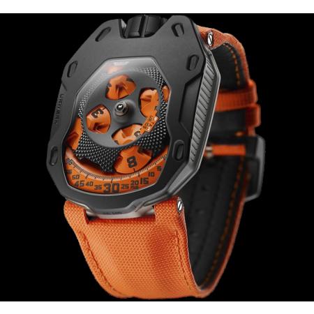 Часы Urwerk 105 collection 105 TA UR 105 TA Black Orange