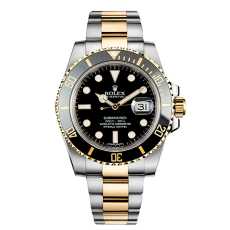 Часы Rolex SUBMARINER DATE 40MM STEEL AND YELLOW GOLD CERAMIC