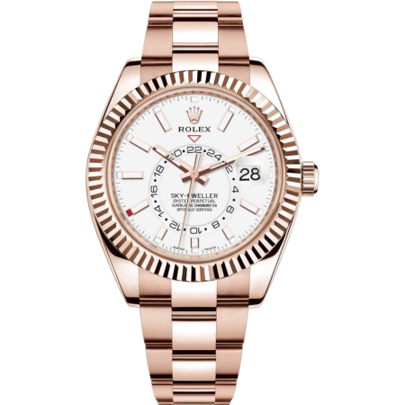 Часы Rolex  Sky-Dweller 42mm Everose Gold 326935
