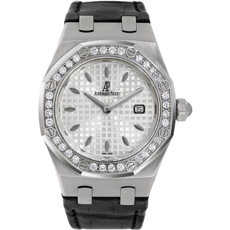 Часы AUDEMARS PIGUET Royal Oak Steel Diamond White Watch 67651ST ZZ D002CR 01