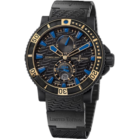 Часы Ulysse Nardin 263 92LE 3C 923 RG Diver Maxi Black Sea