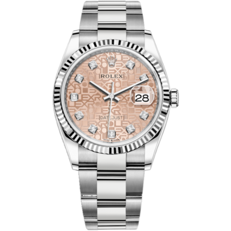 Часы Rolex Datejust 36mm Steel and White Gold126234-0024