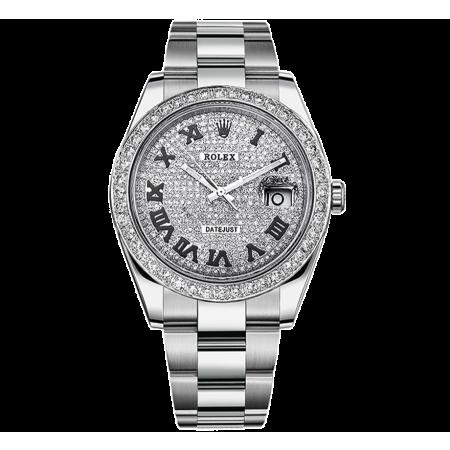 Часы Rolex DATEJUST DIAMONDS 41 MM OYSTERSTEEL