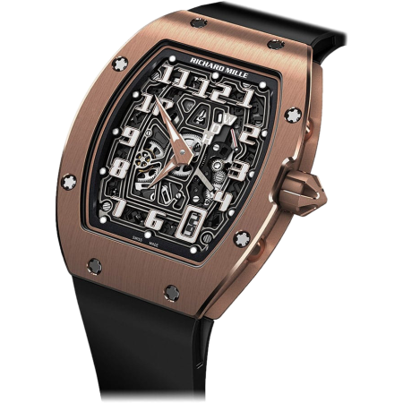 Часы Richard Mille RM 67-01 Automatic Extra Flat Rose Gold