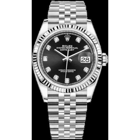 Часы Rolex Datejust 36mm Steel and White Gold126234-0027