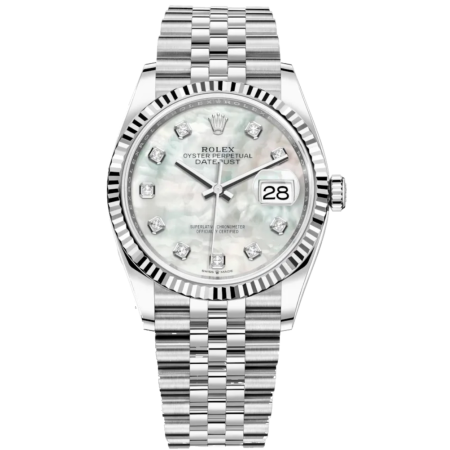 Часы Rolex Datejust 36mm Steel and White Gold 126234-0019