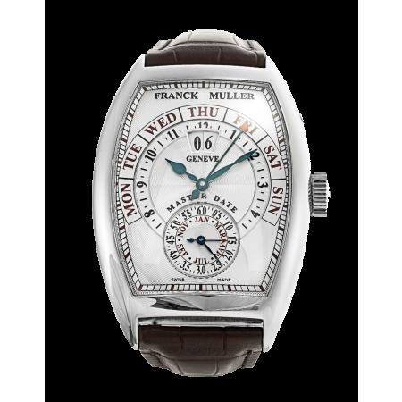 Часы Franck Muller Cintree Curvex Master Date8880 S6 GG DT White Gold