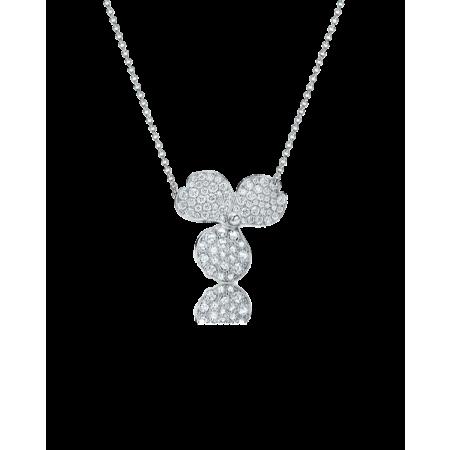 Подвеска Tiffany&Co Tiffany Paper Flowers в виде соцветия с бриллиантовым «паве»