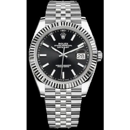 Часы Rolex Datejust 41mm Steel and White Gold 126334-0018