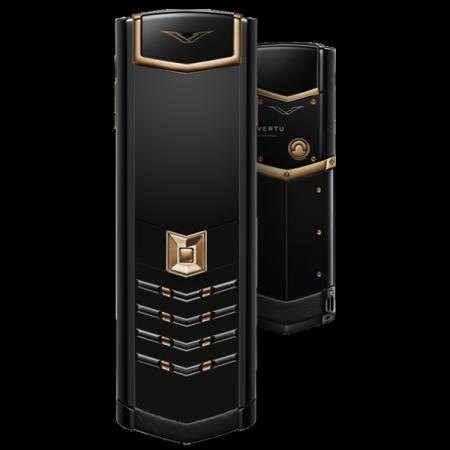 Телефон Vertu SIGNATURE S DESIGN RED GOLD BLACK DLC