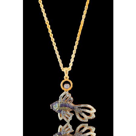 Подвеска Chopard  Happy Diamonds Fish 797736-5001