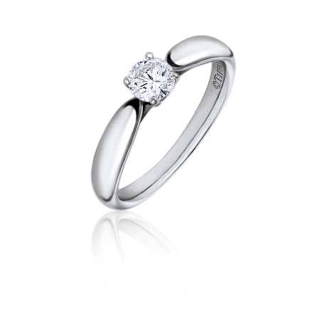 КОЛЬЦО TIFFANY & CO БРИЛЛИАНТ 0.26 CT I/IF
