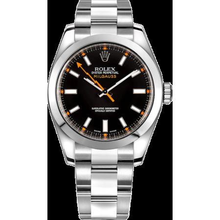 Часы Rolex Milgauss 40mm Steel 116400 Black