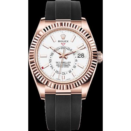 Часы Rolex SKY-DWELLER 42MM EVEROSE GOLD 326235-004