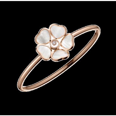 Браслет Chopard Happy Diamonds Happy Hearts Flowers 85A085-5303