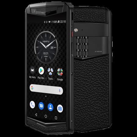 Телефон Vertu ASTER P GOTHIC TITANIUM JADE BLACK