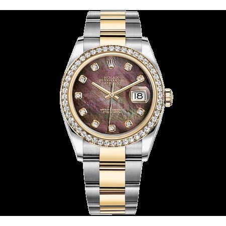 Часы Rolex DATEJUST 36 MM STEEL YELLOW GOLD AND DIAMONDS