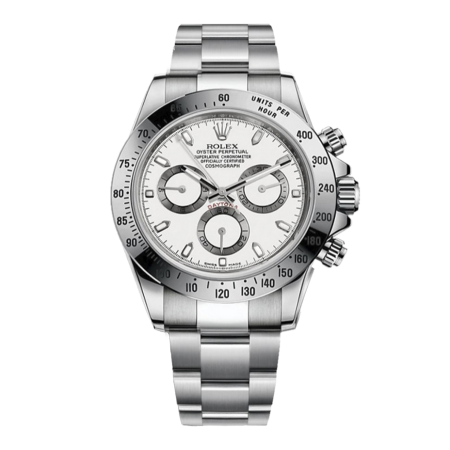 Часы Rolex Cosmograph Daytona 40mm Steel 116520 White