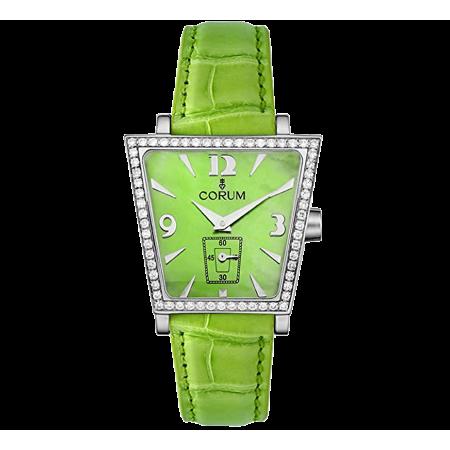 Часы Corum Trapeze Green Mother Of Pearl Diamond.