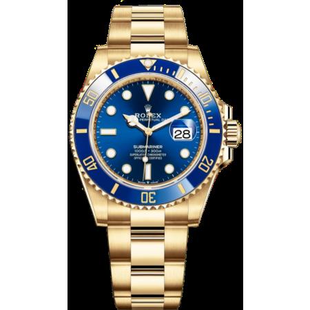Часы Rolex Submariner Submariner Date 41 mm Yellow Gold 126618lb-0002